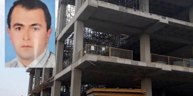 AVM inşaatından düşen işçi öldü