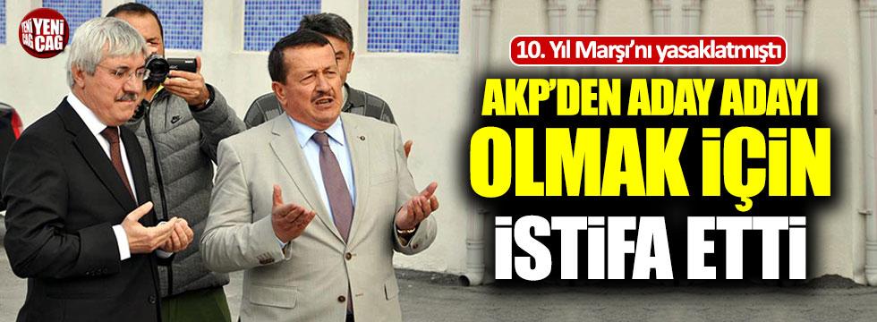 10. Yıl Marşı'nı yasaklayan müdür AKP'den aday adayı oluyor
