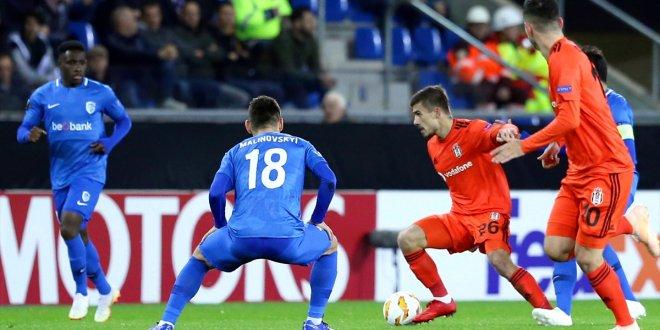 Genk 1-1 Beşiktaş / Maç özeti