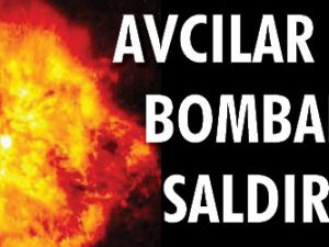 Avcılar da bombalı saldırı
