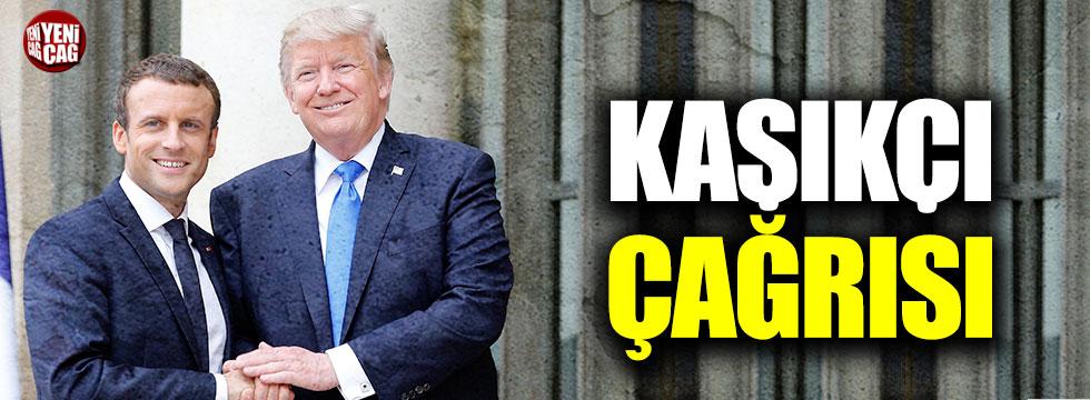 Trump ve Macron'dan Kaşıkçı çağrısı