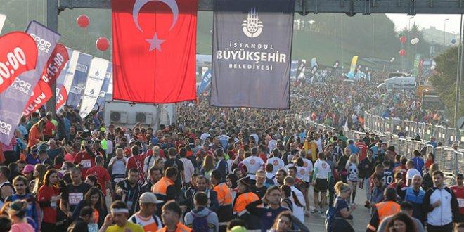 İstanbul Maratonu'ndan renkli kareler