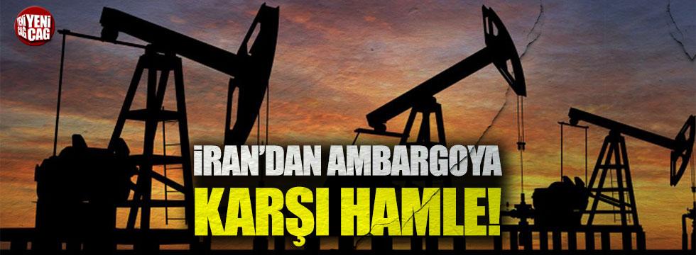 İran'dan ambargoya petrol hamlesi