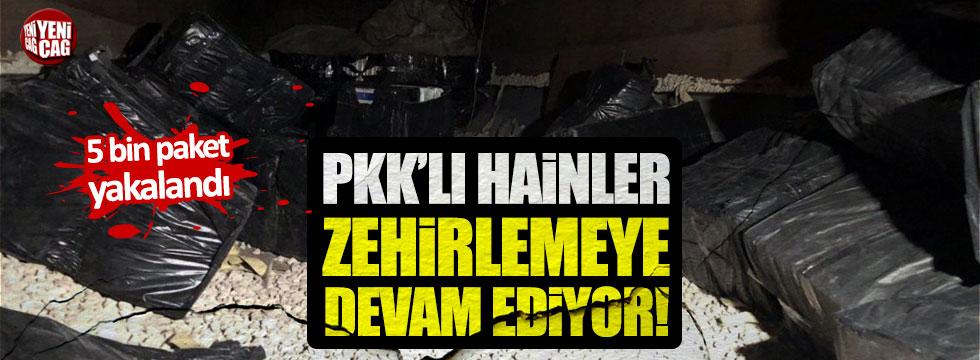 PKK'nın sigara kaçakçılığına Jandarma darbesi