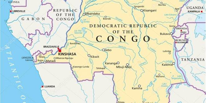 Kongo'da tren raydan çıktı!