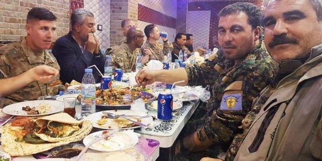 ABD askerinden PKK'lılarla gaziler günü yemeği