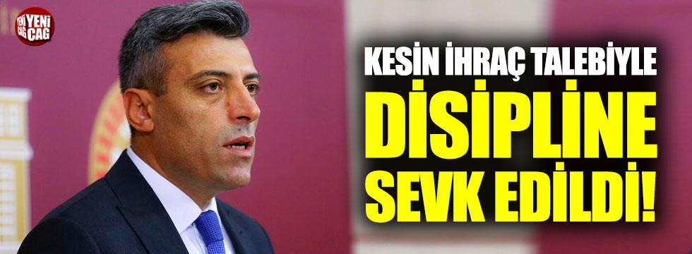 CHP'li Öztürk Yılmaz kesin ihraç talebiyle disipline sevk edildi