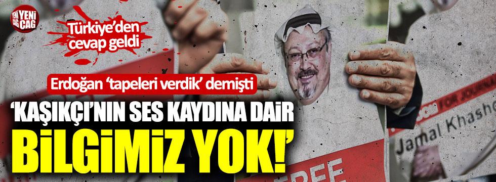 Fransa'dan Erdoğan'a yalanlama!