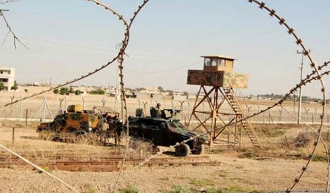 Kilis'te askeri yasak bölgede 8 kişi yakalandı