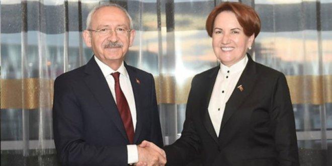 Akşener, Kılıçdaroğlu'yla görüşecek