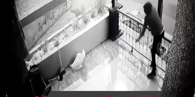 Çalıntı plakayla hırsızlığa tutuklama