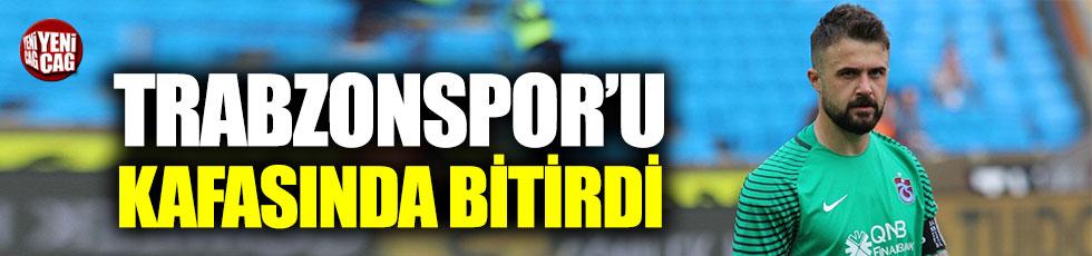 Onur Kıvrak, Trabzonspor'u kafasında bitirdi