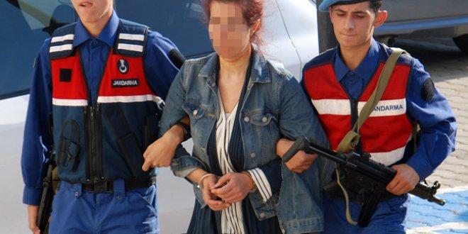 PKK'lı terörist jandarmayı görünce...