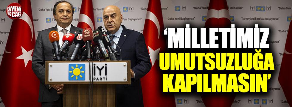 İYİ Parti-CHP görüşmesi sonrası iki partiden ortak açıklama