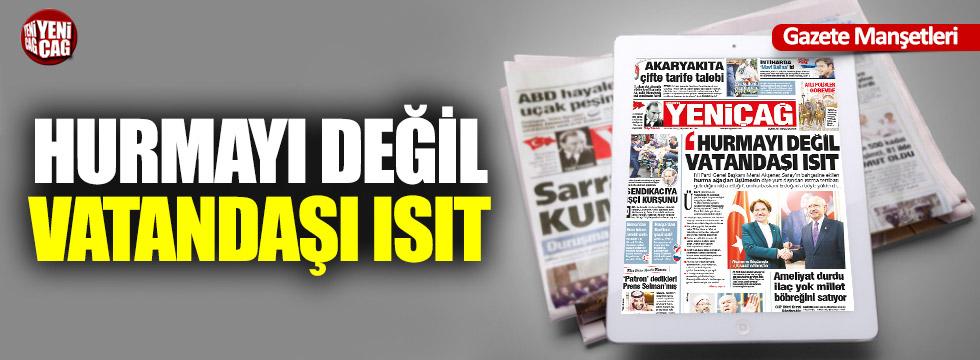 Günün Ulusal Gazete Manşetleri - 14 11 2018