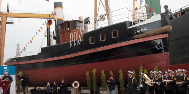Kartal istimbotu törenle Deniz Kuvvetleri'ne teslim edildi