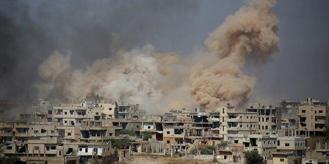 'Koalisyon misket bombası kullandı' iddiası