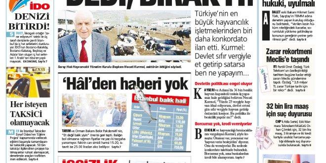 Günün Ulusal Gazete Manşetleri - 15 11 2018