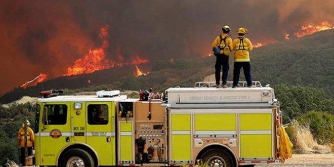 ABD'deki yangında ölü sayısı 56'ya yükselldi