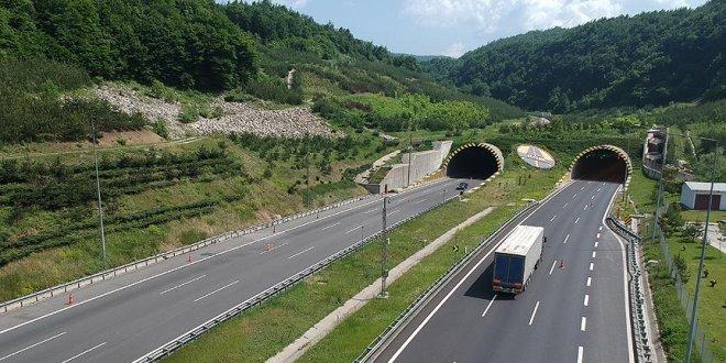 Bolu Tüneli'nin Ankara yönü ulaşıma kapanacak