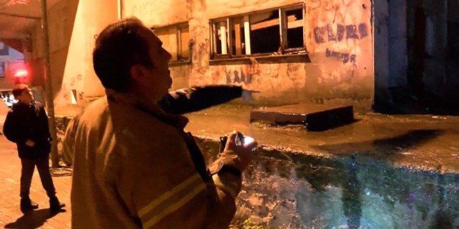 Güngören'de göçük: 6 katlı bina boşaltıldı