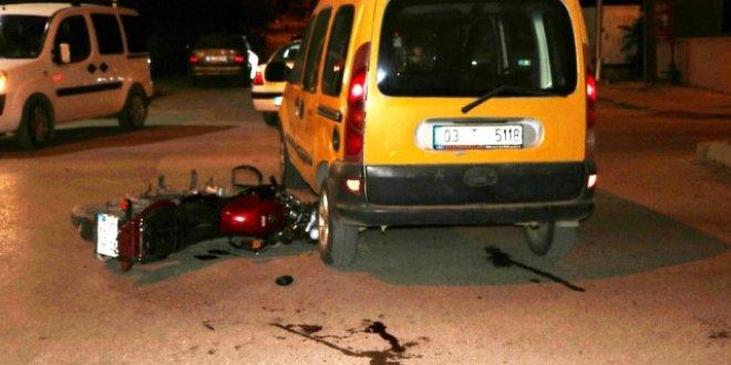 Sandıklı'da trafik kazası:1 Ölü