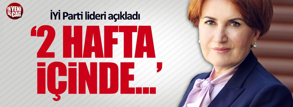 Meral Akşener'den ittifak iddialarıyla ilgili yeni açıklama
