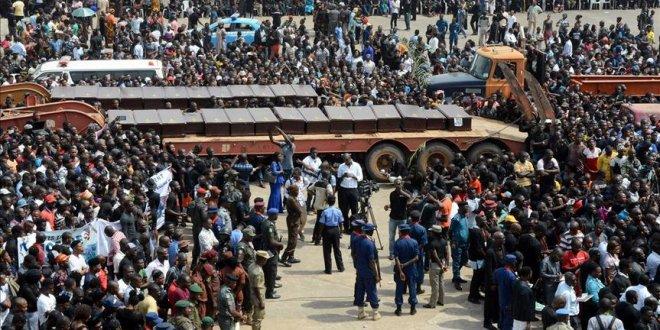 Nijerya'da yerinden edilmiş 157 bin kişi evine döndü