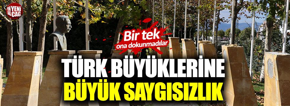 Türk büyüklerine büyük saygısızlık