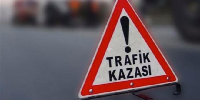 AKP konvoyu kaza yaptı!