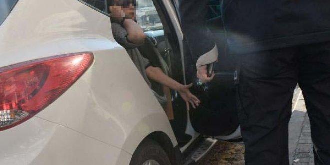 Cipteki kadınlar yol kesip kadın şoförü dövdü!