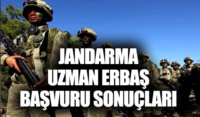 MSB Jandarma Uzman Erbaş başvuru sonuçları