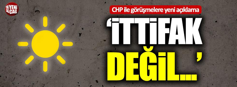 """Lütfü Türkkan: """"Bu bir iş birliği görüşmesi, bir ittifak değil"""""""