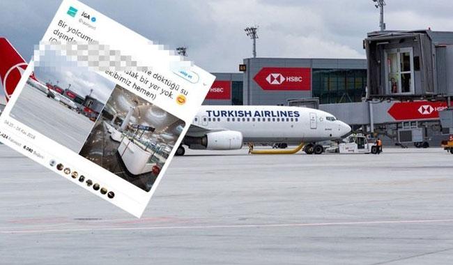 İstanbul Havalimanı'nı su bastı mı?