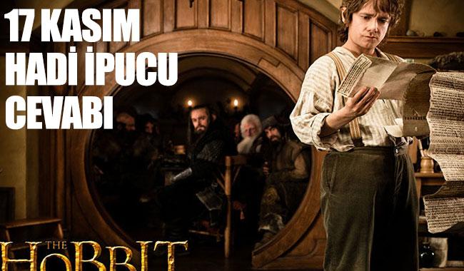 Hadi ipucu cevabı: Hobbit filminin ünlü yönetmeni kimdir?