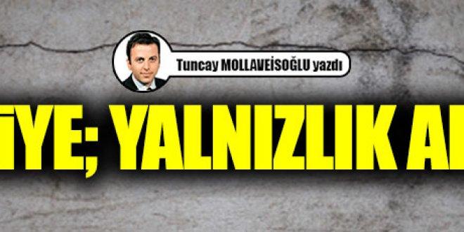 Türkiye; yalnızlık adası...