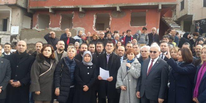 İYİ Parti kentsel dönüşüm mağdurlarını dinledi