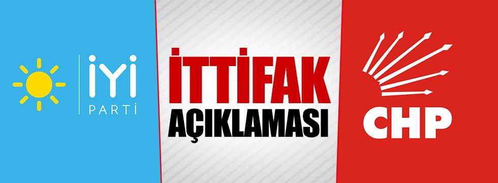 """CHP'den ittifak açıklaması: """"İYİ Parti ile..."""""""