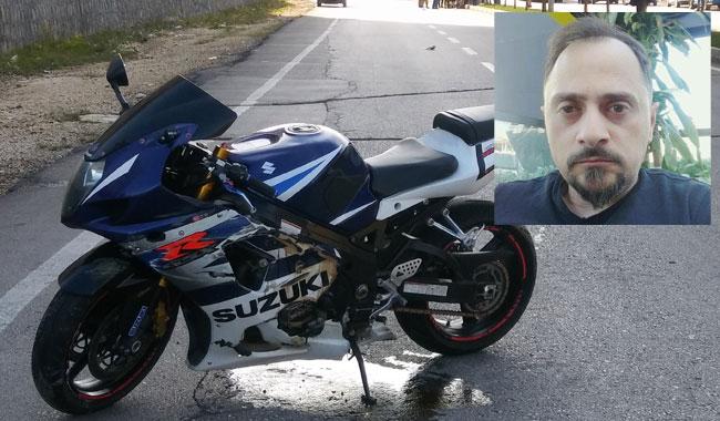 Gaziantep'te refüje çarpan motosikletli öldü