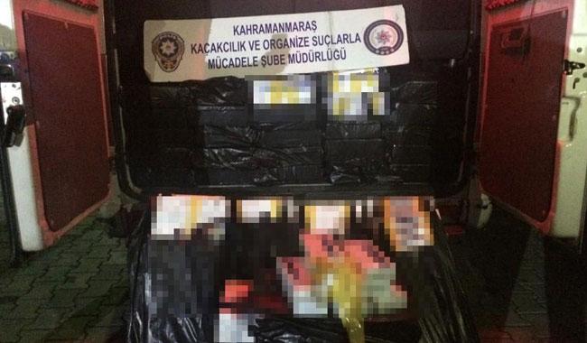 Otomobilde gümrük kaçağı 8 bin 250 paket sigara bulundu