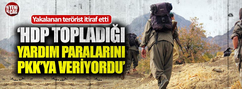 """""""HDP topladığı yardım paralarını PKK'ya verdi"""""""
