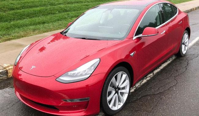 Tesla Çin'de Model 3 siparişleri almaya başladı