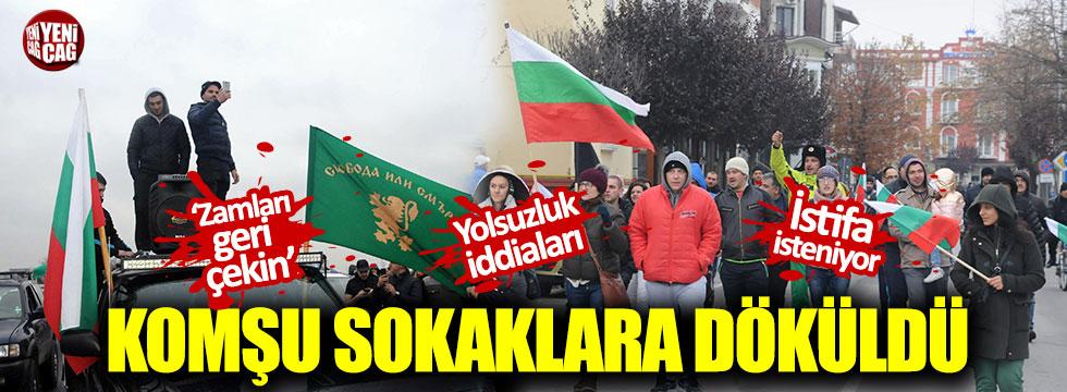 Bulgaristan halkı zamlar nedeniyle sokağa döküldü