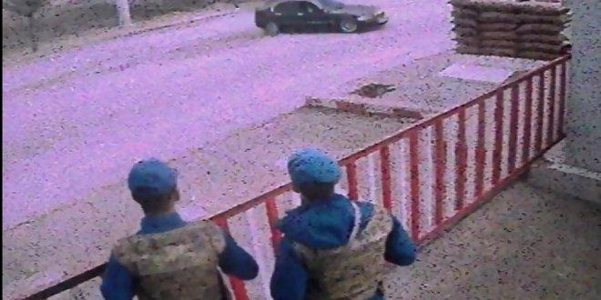 Jandarma karakolu önünde drift yapan sürücüye ceza