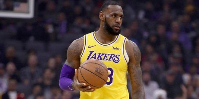 LeBron James, Lakers'ı taşıdı