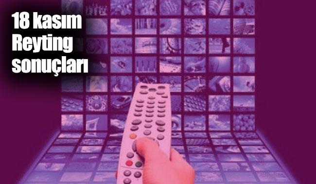 18 Kasım Pazar 2018 reyting sonuçları açıklandı