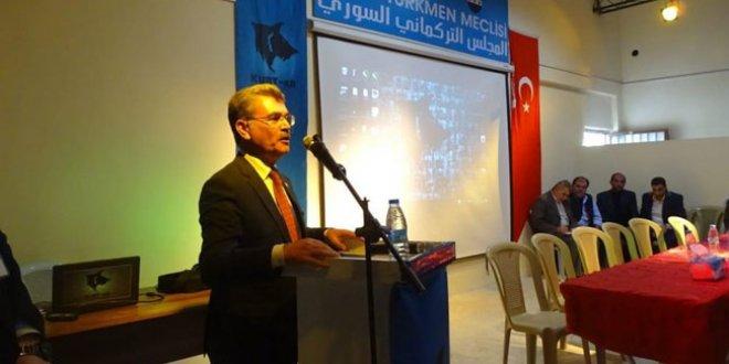 Suriye Türkmenleri tek bayrak altında toplandı