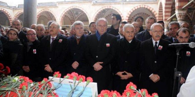 CHP Edirne Milletvekili Erdin Bircan son yolculuğuna uğurlandı