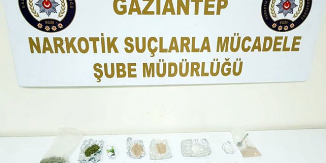 Gaziantep'te uyuşturucuya 8 tutuklama