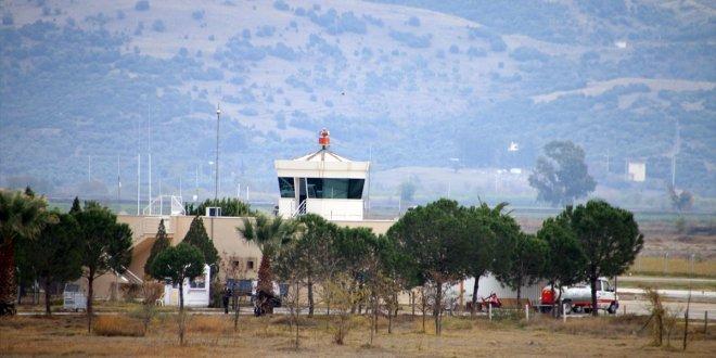 Denizli'de düşen uçağın yeri tespit edildi